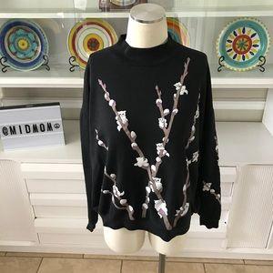 Vintage 1980s Spumoni by Franko cat sweatshirt